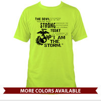 _T-Shirt (Unisex): I Am The Storm