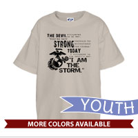 _T-Shirt (Youth): I Am The Storm