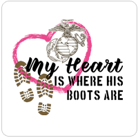 My Heart Is Where His/Her Boots Are