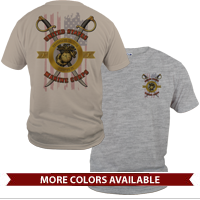 _T-Shirt (Unisex): Swords with Flag