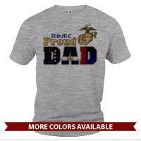 _T-Shirt (Unisex): Dress Blue Dad