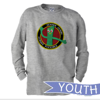 _Youth Long Sleeve Shirt: Semper Gumby