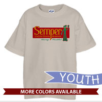 _T-Shirt (Youth): Semper Fi Gumby