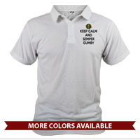 _Polo (Unisex): Keep Calm, Semper Gumby