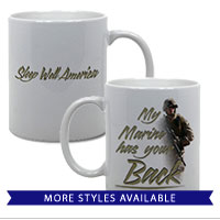 Mugs & Steins: My Marine has your Back