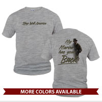 _T-shirt (Unisex): My Marine has Your Back