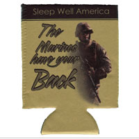 Beverage Insulator: Sleep Well America (Can or Bottle)