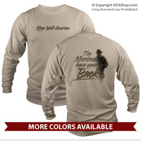 _Long Sleeve Shirt (Unisex): THE Marines have your back