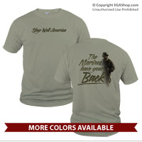 _T-Shirt (Unisex):  THE Marines have Your Back