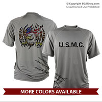 _Performance Shirt: USMC and Eagle Rip