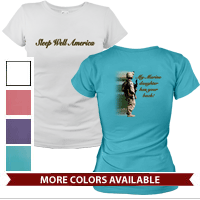 _T-Shirt: (Ladies) My Marine Daughter Has Your Back