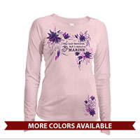 _Long Sleeve Solar Shirt (Ladies): I may look harmless... -floral