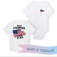 _T-Shirt/Onesie (Toddler/Baby): Step on This