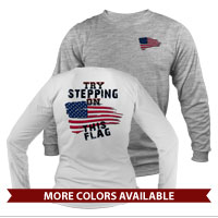 _Long Sleeve Shirt (Unisex): Step on This
