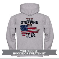 _Sweatshirt or Hoodie: Step on This