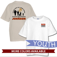 _T-Shirt (Youth): Red Friday with Name
