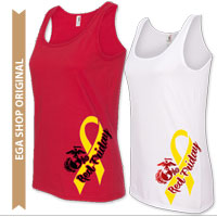 _Ladies Tank Top: Red Friday EGA & Yellow Ribbon