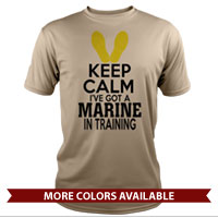 _Performance Shirt: KEEP CALM, Marine in Training
