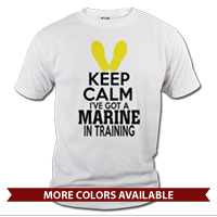 _T-Shirt (Unisex): KEEP CALM, Marine in Training
