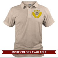 _Polo (Unisex): Yellow Footprints, EGA