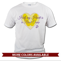 _T-Shirt (Unisex): Half My Heart, Boot Camp