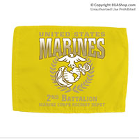 Car Flag: Graduation 2nd Btn (Double-sided, 11x14 w/ pole)