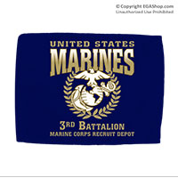 Car Flag: Graduation 3rd Btn (Double-sided, 11x14 w/ pole)