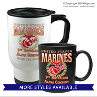 Mugs & Steins: 1st Recruit Btn