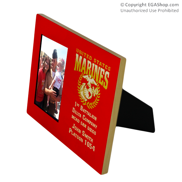 Photo Frame: Custom 1st Battalion 8x10 Holds 4x6