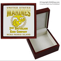 Keepsake Box: 2nd Recruit Btn (4x4)