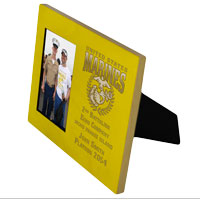 Photo Frame: Custom 2nd Battalion 8x10 Holds 4x6