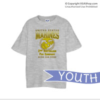 _Customized T-Shirt (Youth): 2nd Recruit Btn