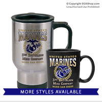 Mugs & Steins: 3rd Recruit Btn