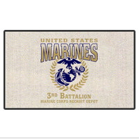 Doormat: 3rd Recruit Btn (18x24)