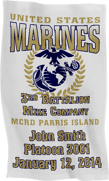 Rally Towel: 3rd Recruit Btn (Customized)