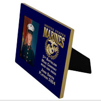 Photo Frame: Custom 3rd Battalion 8x10 Holds 4x6