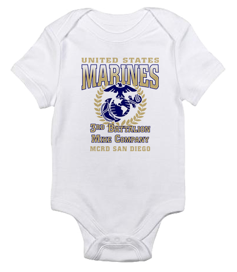 _Customized T-Shirt/Onesie (Toddler/Baby): 3rd Recruit Btn