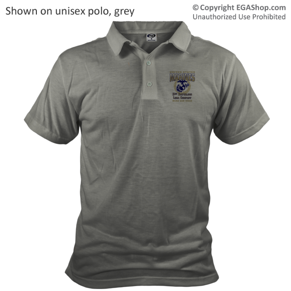 _Customized Polo: 3rd Recruit Btn (Unisex)