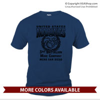 _Customized T-Shirt (Unisex): 3rd Recruit Battalion $17.75 (LIMITED TIME)
