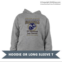 _Customized Youth Hoodie or Long Sleeve Shirt: 3rd Recruit Btn