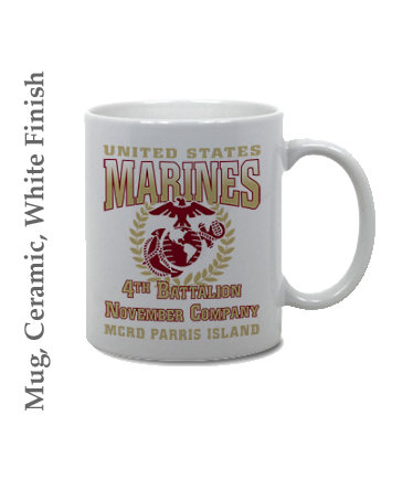 Mugs & Steins: 4th Recruit Btn