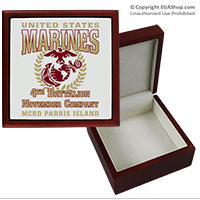 Keepsake Box: 4th Recruit Btn (4x4)
