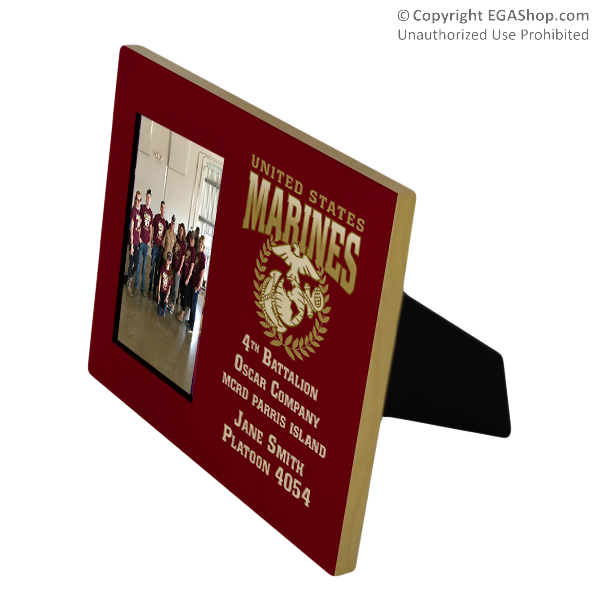 Photo Frame: Custom 4th Battalion 8x10 Holds 4x6