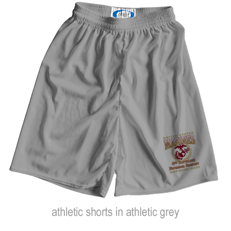 _Customized Athletic Shorts: 4th Recruit Btn (Unisex)