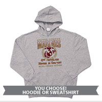 _Hoodie or Sweatshirt: 4th Recruit Btn