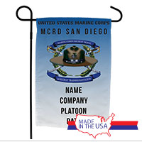 Garden Flag: Recruit, 3rd Btn-San Diego (Customized)