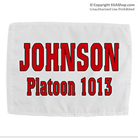 Name & Platoon, Rally Flag: 1st BTN