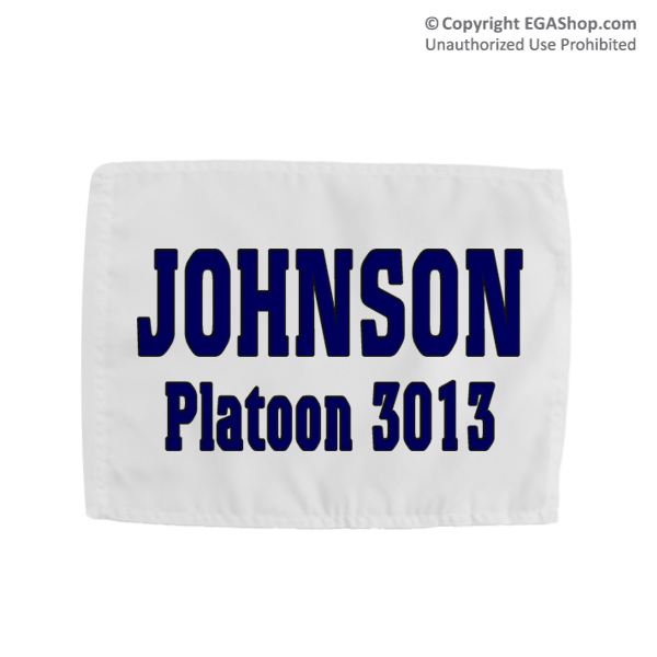Name & Platoon, Rally Flag: 3rd BTN