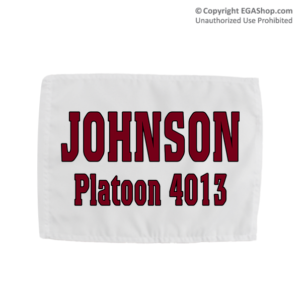 Name & Platoon, Rally Flag: 4th BTN