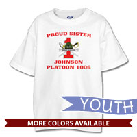 _T-Shirt (Youth): 1st Battalion Crest
